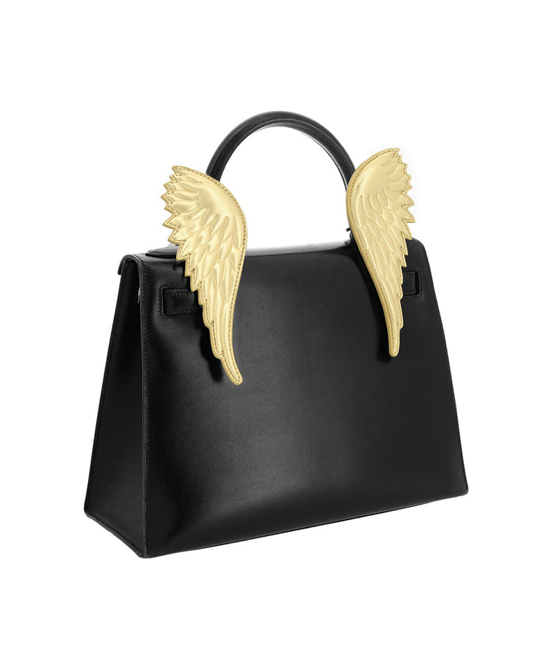 Ms. Mini 101 Gold Wings Bag Accessory