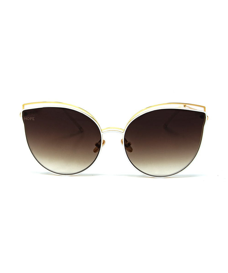Bast Sunglasses - White