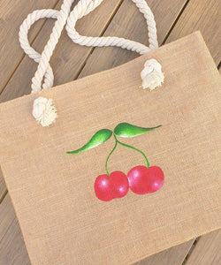 Cherry Beach Bag