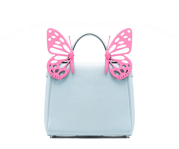 Ms. Grace Fuchsia Butterfly Bag Accessory