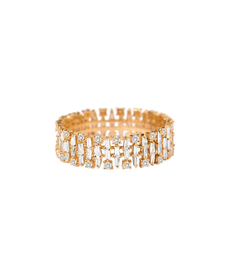 Cascading Sparkle Ring