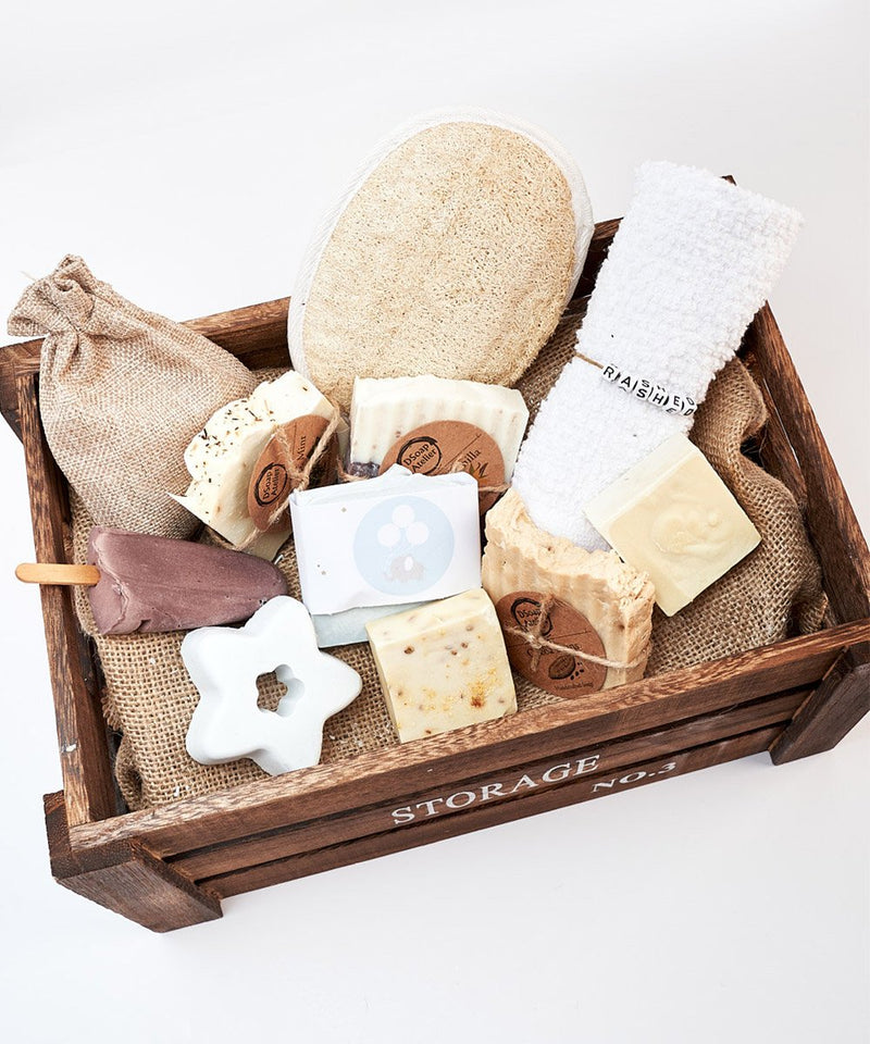 Baby Boy Basket Medium