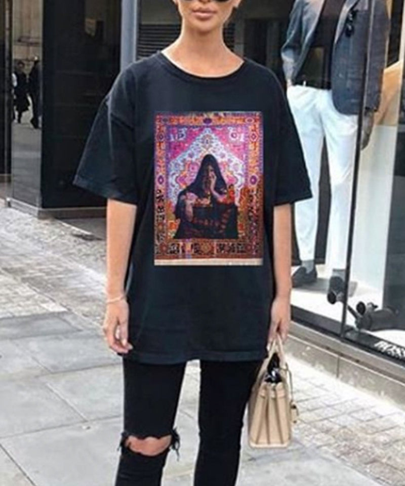 Carpet Bedouin T-Shirt - Black