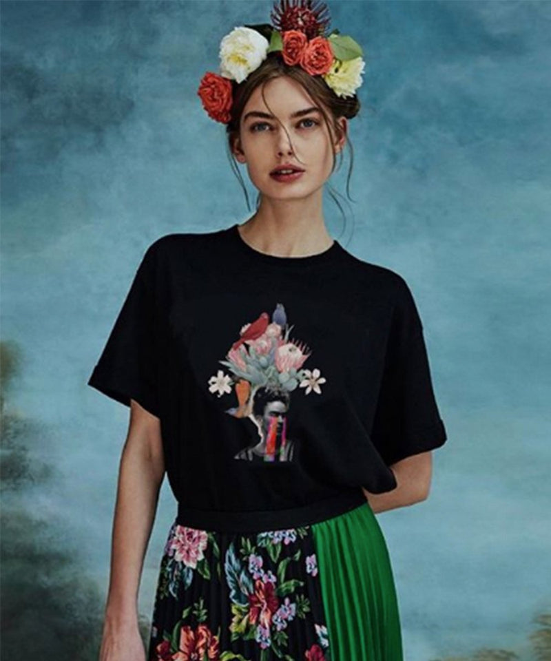 Frida T-Shirt - Black
