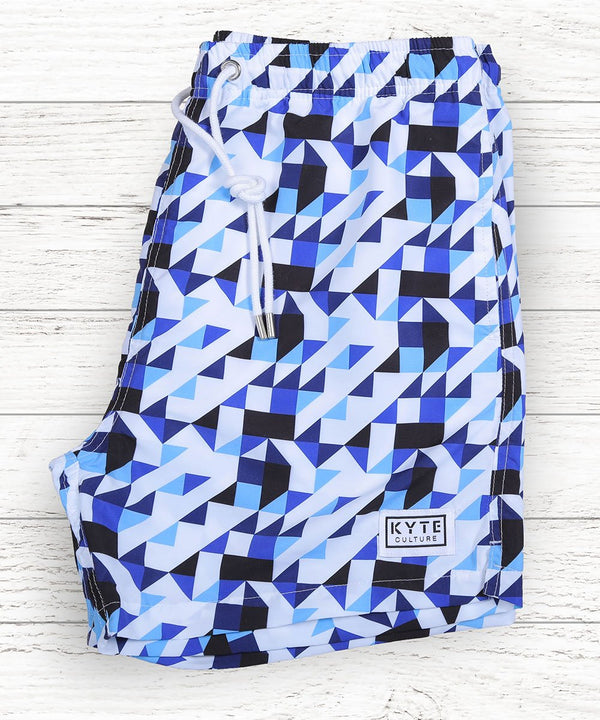 Maze'n'Blue Swim Short