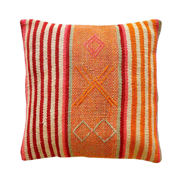 Striped Peruvian Cushion