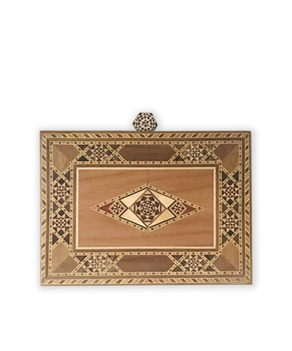 Marquetry Clutch
