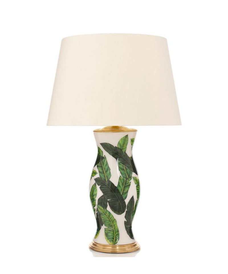 Green White Lamp Palm Tree Lamp