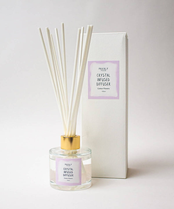 Cotton Flowers Crystal Infused Diffuser