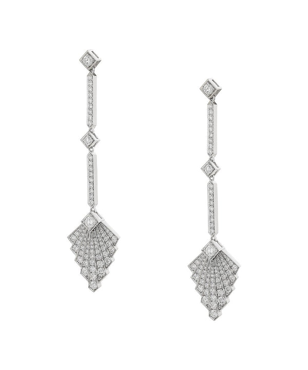 Art Deco Statement Earrings