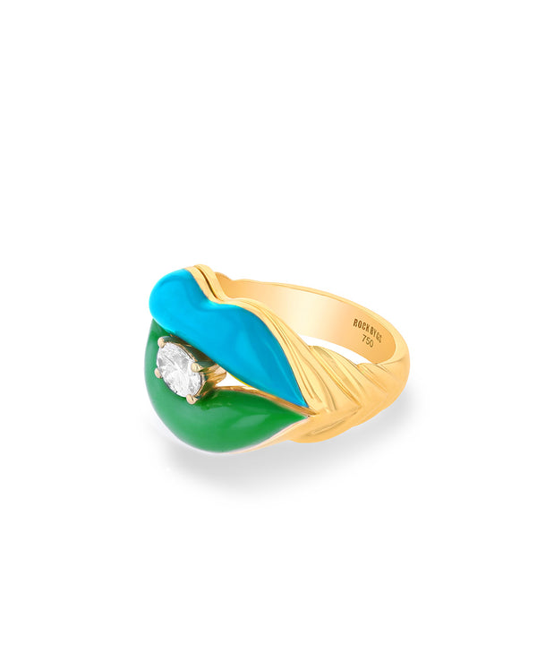 Sugar Lips Turquoise Green Ring