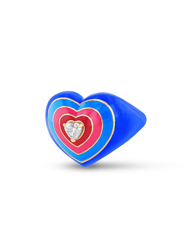 Wonder Heart Blue Ring