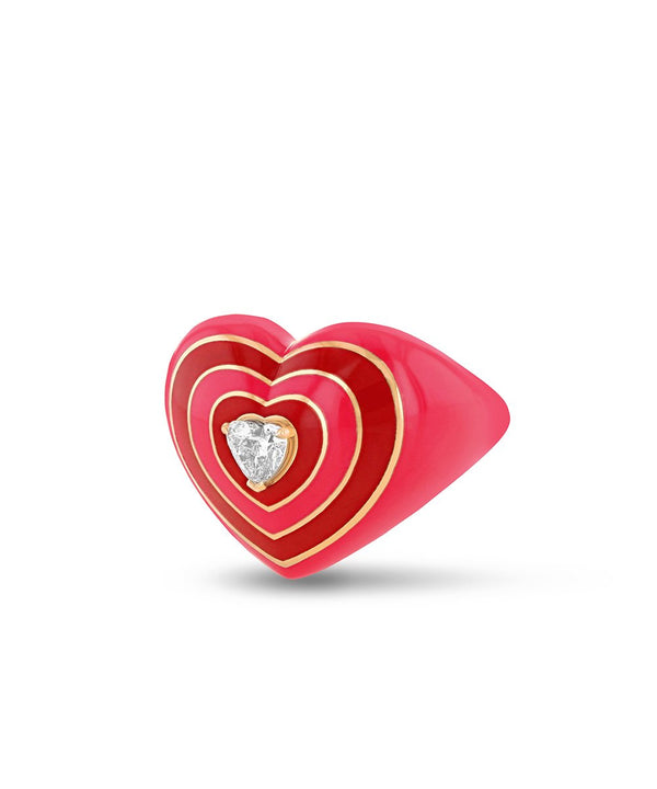 Wonder Heart Pink Ring