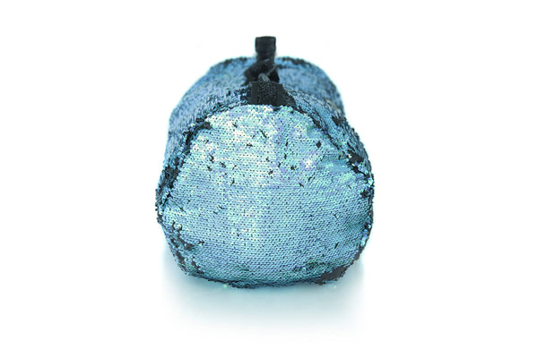 Sequin Small Duffle Blue/ Black