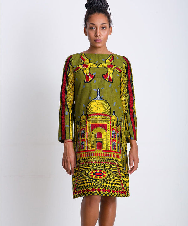Taj Mahal Dress