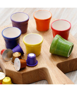 Colored Coffee Cups