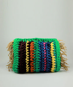 Hand Made Crochet Clutch - Multicolored 2