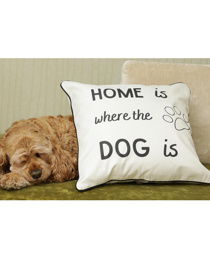 Home is Where the Dog is Cushion