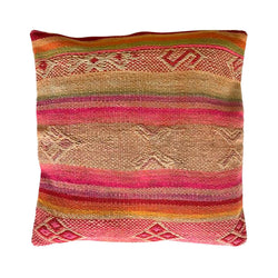 Patterned Peruvian Cushion Cover