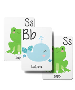 Spanish Alphabet Cards