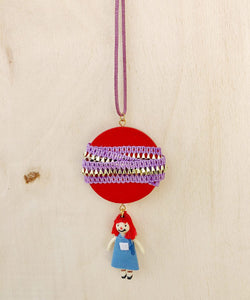 Red Head Pendant