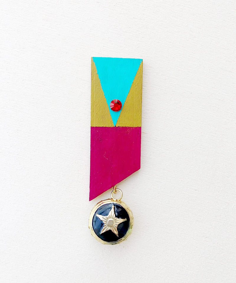 The Commander Brooch