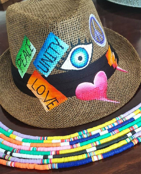 Positivity Fedora Hat