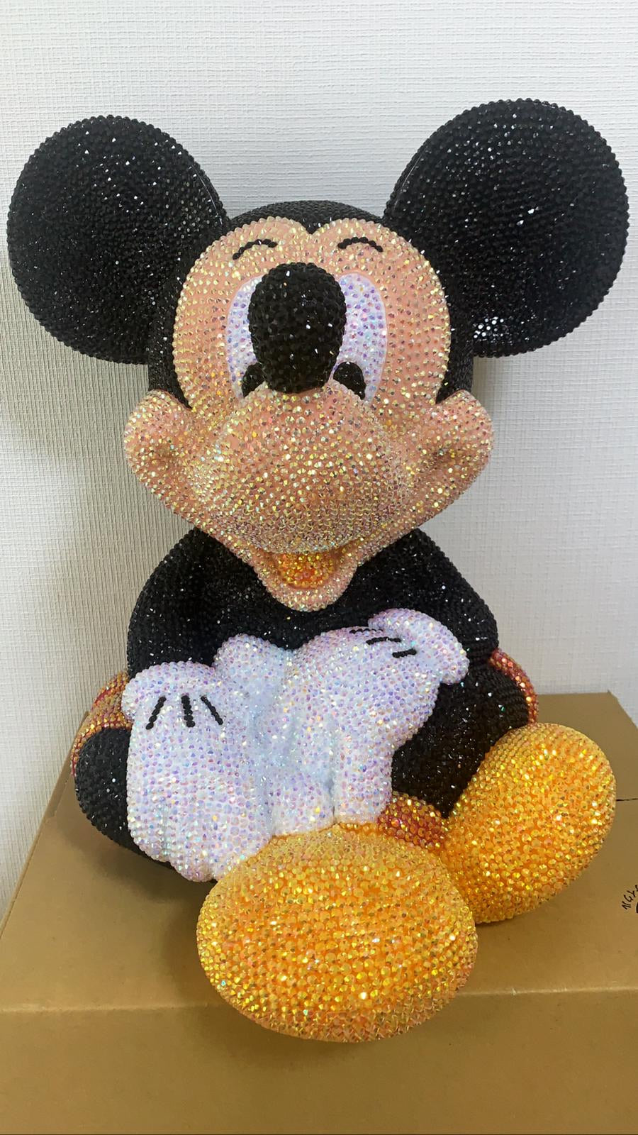 Mickey cofre Strass
