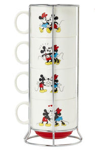 Torre de canecas Mickey & Minnie