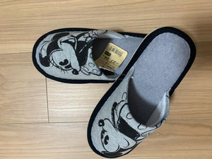 Chinelo Mickey cinza