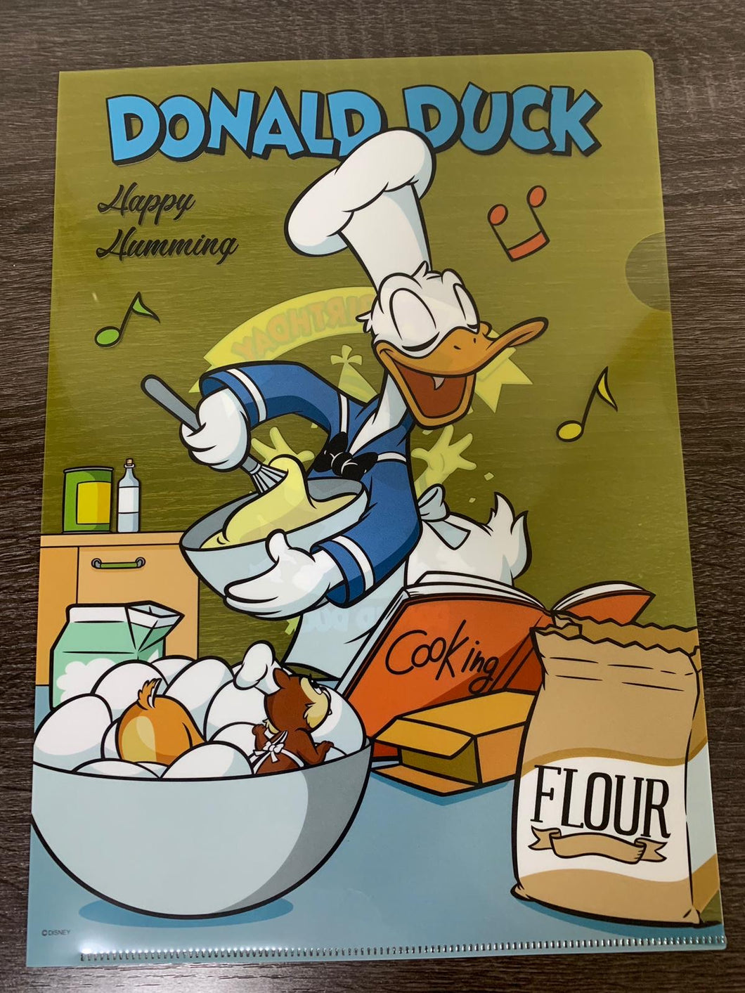 Pasta para documentos DisneyStore Donald