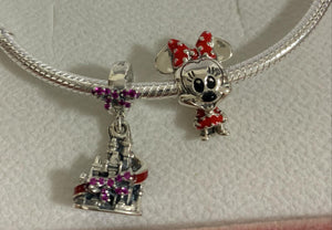 Kit Pandora castelo e Minnie Disney