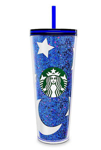 Copo Mickey Mouse Starbucks - Disneyland - Wishes Come True Blue