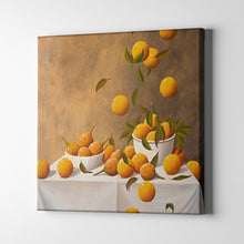 Load image into Gallery viewer, Oranges in White Bowls