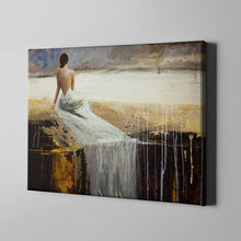 Load image into Gallery viewer, Long White Dress
