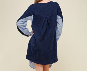 Sweater Stripped Tunic