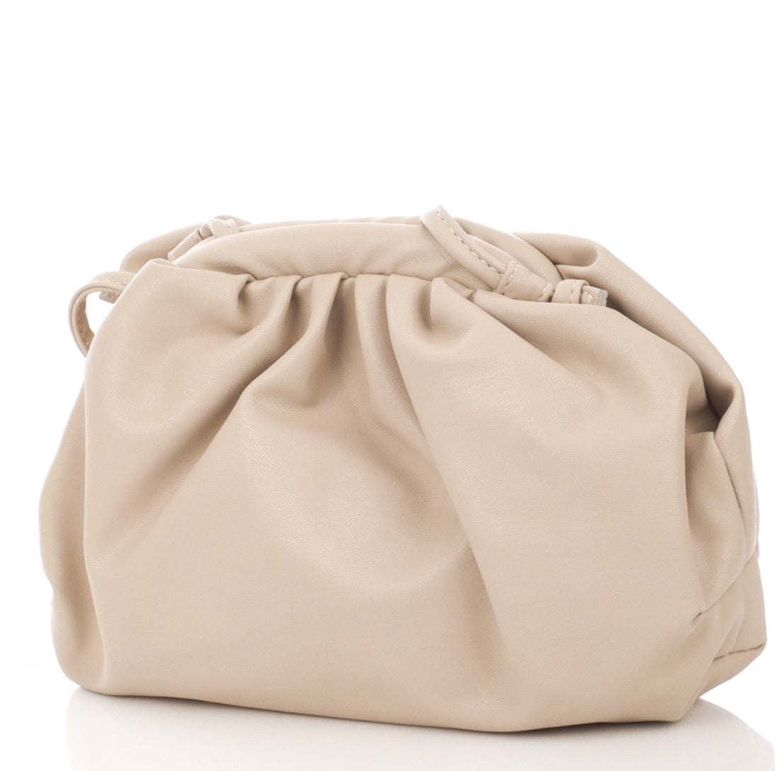 Nude Clutch Bag