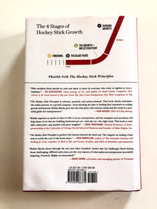 The Hockey Stick Principles: The 4 Key Stages to Entrepreneurial Success - Bobby Martin - Preloved - ALMOST NEW