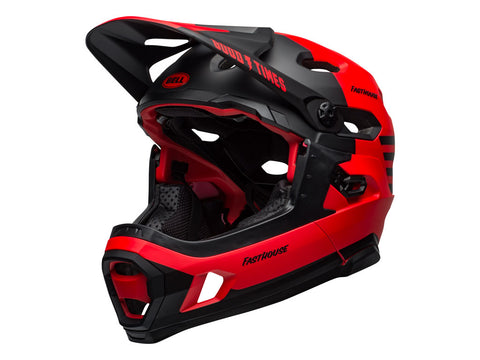 CASCO BELL SUPER DH ROJO 2021