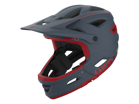 CASCO GIRO SWITCHBLADE MIPS 2021 ROJO MATE/ GRIS