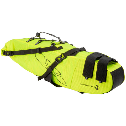Bolsa de sillin Bikepacking M-WAVE Rough Ride Saddle L