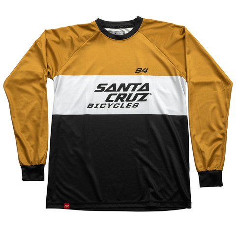Jersey Mang Comp Santa Cruz MX Enduro Navy/Gold(M)