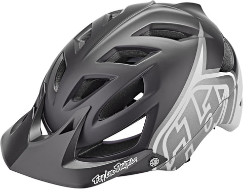 Casco Troy Lee Designs A1 MIPS , classic black/white (2021)