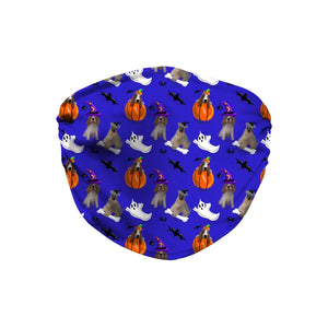 Halloween Dogs Sublimation Face Mask - Fair Dinkum Fashion