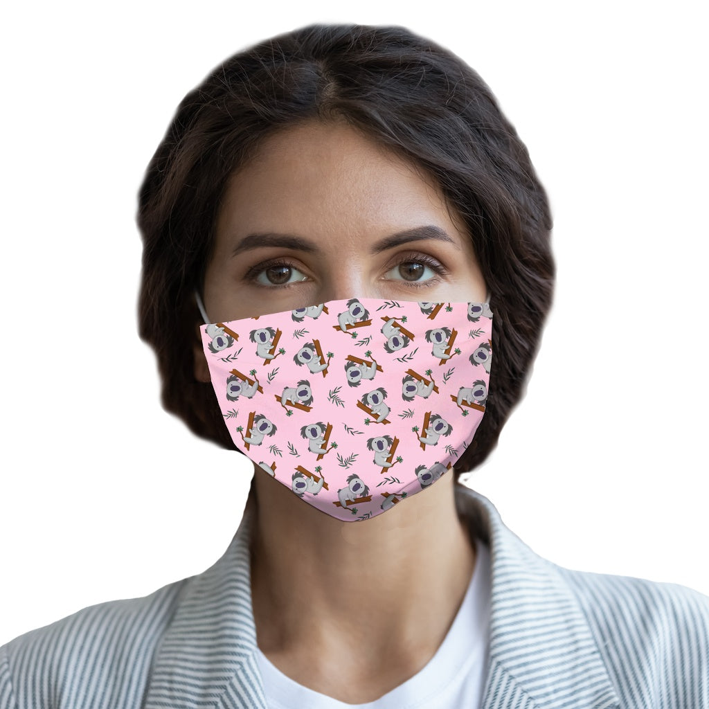 Koalas (Pink)  Face Mask - Youth and Adult sizes - Fair Dinkum Fashion
