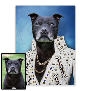 Captain - Custom Pet Portrait - Metal Wall Art - Fair Dinkum Fashion