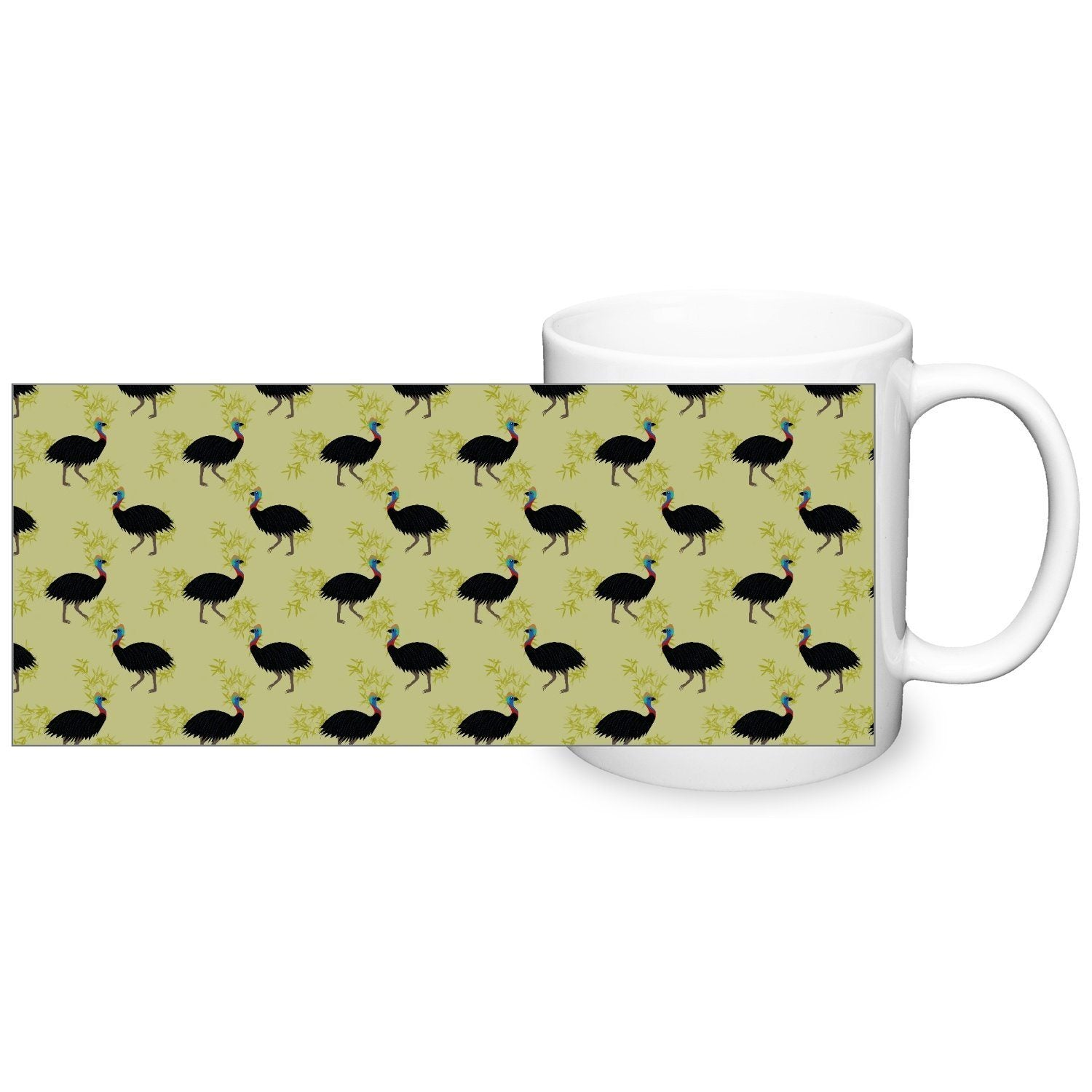 Cassowary Mug - Fair Dinkum Fashion