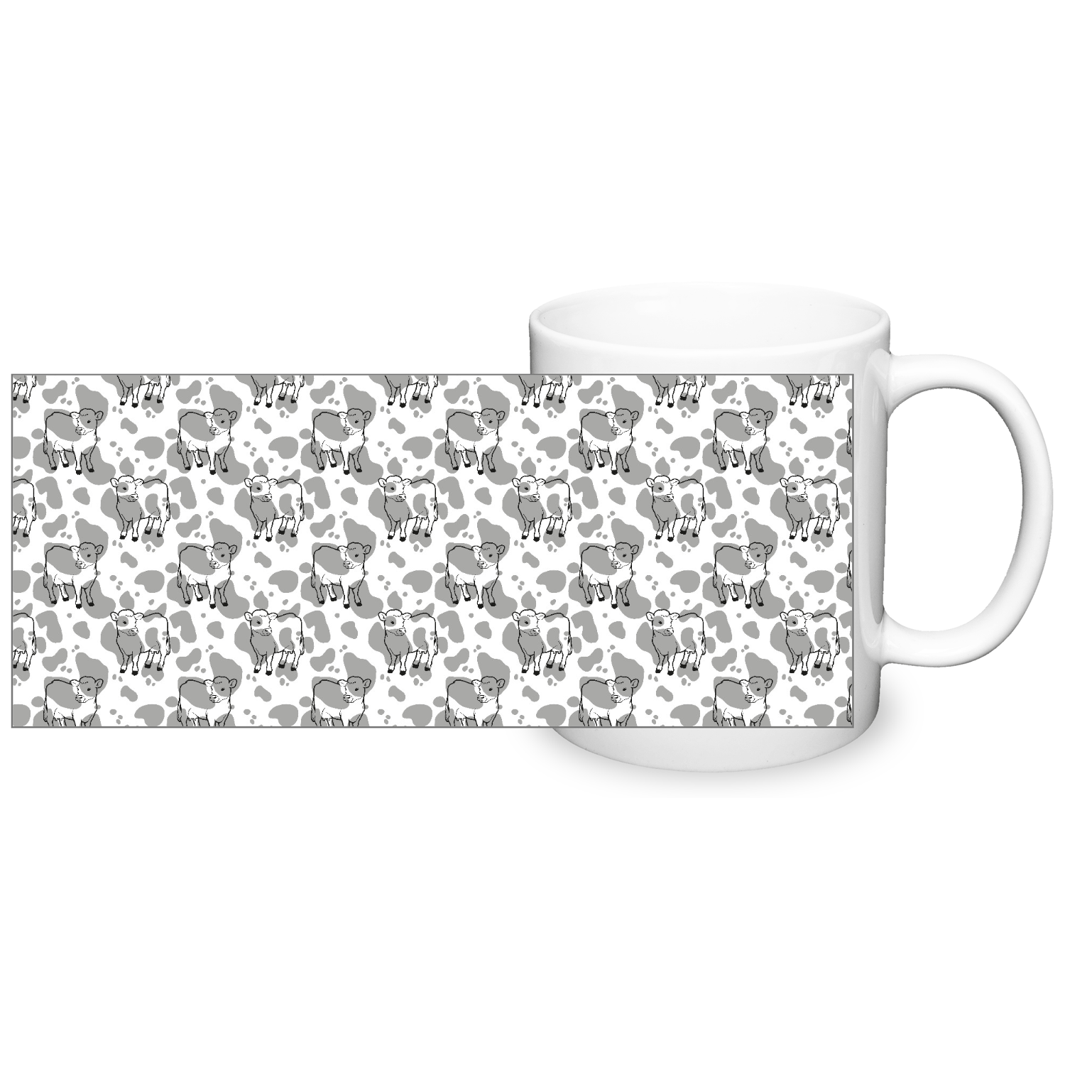 Cow Print Mug - Fair Dinkum Fashion