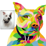 Custom Pop Art Pet   -  Mask - Fair Dinkum Fashion