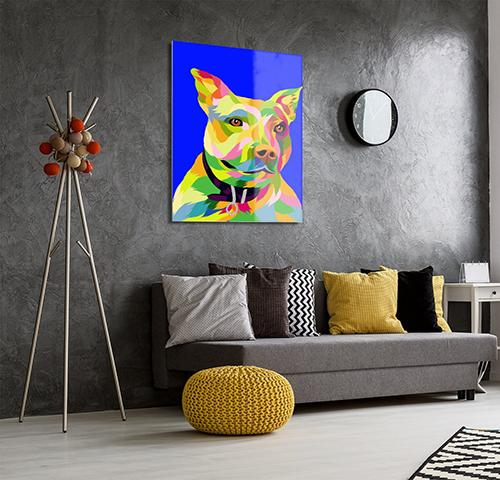 Custom Pop Art Pet - Metal Wall Art - Fair Dinkum Fashion